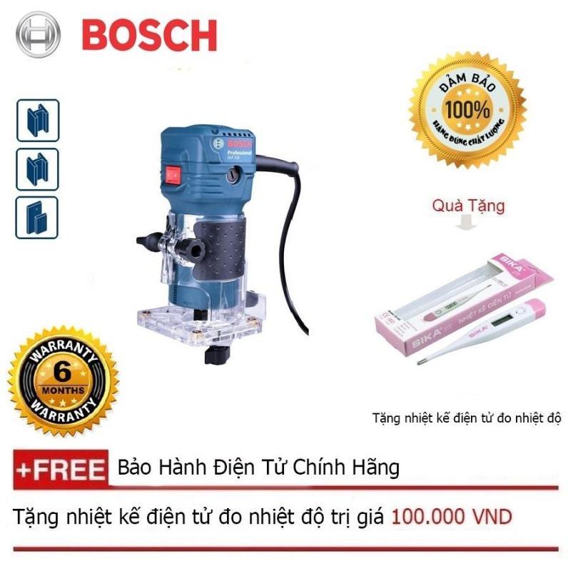 Máy phay nhỏ Bosch GKF 550 + Quà tặng nhiệt kế điện tử