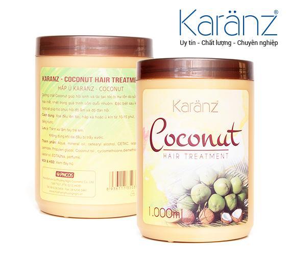Hấp ủ Hương Dừa (Coconut) Karanz 1000ml nhập khẩu
