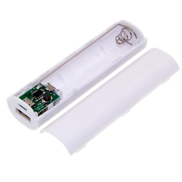 Bảng giá Mạch sạc dự phòng Mini 1A + Box 1 cell pin 18650 không hàn  PWB101 - KHÔNG CÓ PIN