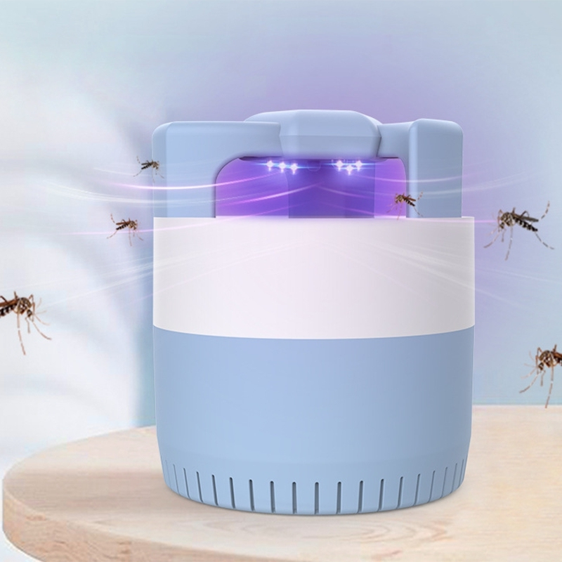 Photocatalyst USB Plug-in Suction Type Mosquito Killing Lamp LED Home Indoor Silent Fly Repellent Mosquito Catching Lamp
