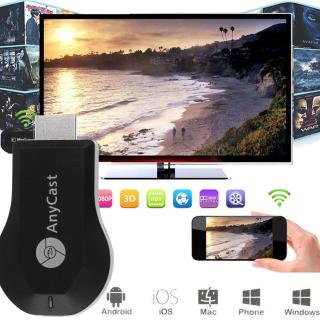 Xem Điện Thoại Trên Tivi - HDMI ANYCAST M9 PLUS - Kết Nối Nhanh Không Bị Gian Đoạn - Bảo hành 3 Năm. thumbnail