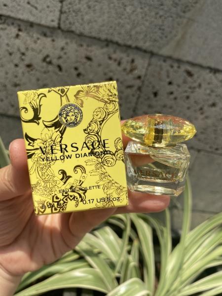 (Auth) Nước hoa Mini Versace Yellow Diamond edt 5ml