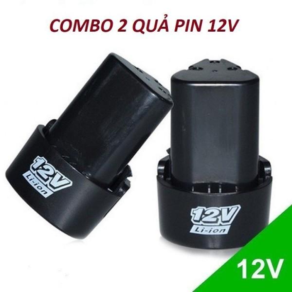Combo 2 quả Pin 12v,pin cho các loại máy khoan