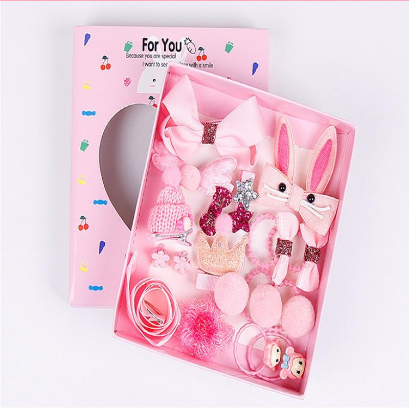 Giá bán Set 18 món Kẹp tóc, cài tóc cho bé gái [New 2018]