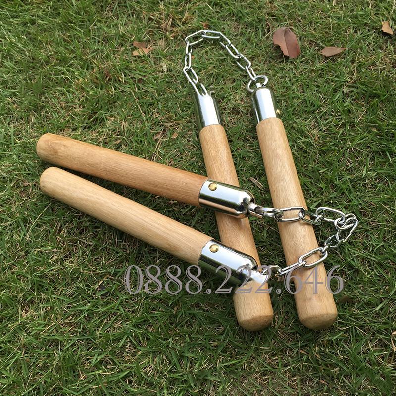 Gậy chơi KHÚC CÔN cầu NHỊ đa năng tiện lợi gọn nhẹ khi ra sân và mang đi du lịch(chất liệu gỗ)-Gậy chơi khúc côn cầu nhị đa năng tiện lợi