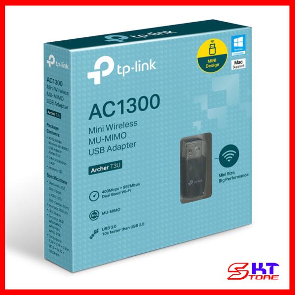 Bảng giá USB Thu Sóng Wifi MU-MIMO Tp-Link Archer T3U Chuẩn AC Tốc Độ 1300Mbps - Hàng Chính Hãng Phong Vũ