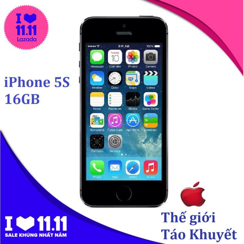 Điện thoại Apple IPHONE 5S - 16GB - Quốc Tế - Giá rẻ - Bảo hành 12 tháng - Thế Giới Táo Khuyết