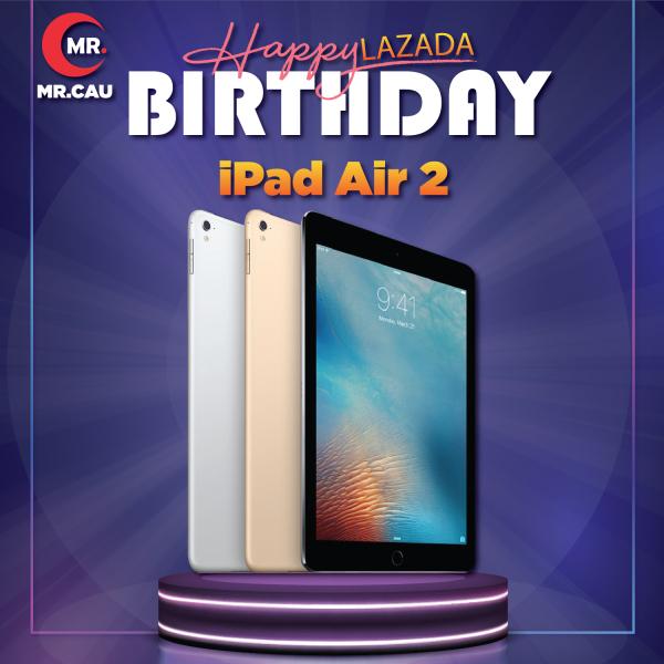 Máy tính bảng Apple IPAD AIR 2  Bản (4G+WIFI)  (64GB- 16GB ) Máy Zin Ram 2G Chip A8X mạnh mẽ Màn Hình 9.7 inch full HD Cảm biến vân tay MR CAU