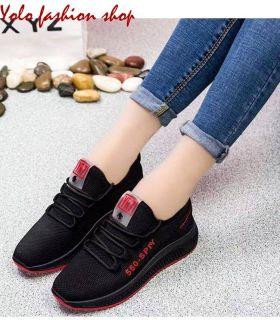 Giày thể thao nữ đế êm giày thể thao đi bộ phối màu xinh xắn-TT13 thumbnail