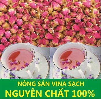 Trà Hoa Hồng Nguyên Bông 300g - Chăm Sóc Cơ Thể Toàn Diện By Hàng Chất Giá Chuẩn 01.