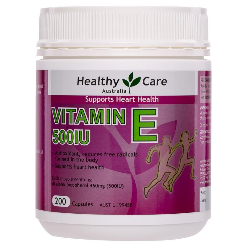 Vitamin E Healthy Care người lớn 200v
