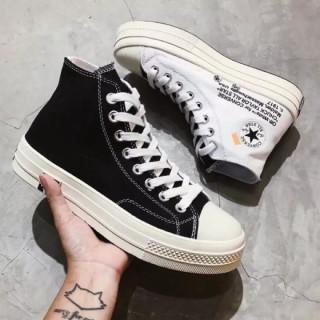 (Tặng túi converse + bill+tất )Giày Converse Chuck Taylor 1970s High off- white thumbnail