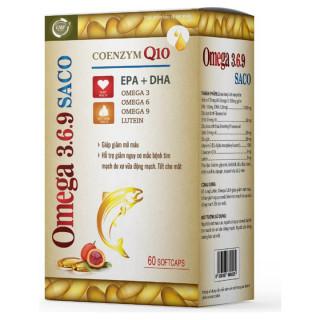 Viên Uống Dầu Cá Omega 369 - Giúp Bổ Sung Lutein, Giúp Giảm Mỡ Máu, Giảm Nguy Cơ Mắc Bệnh Tim Mạch Do Xơ Vữa Động Mạch, Tốt Cho Mắt. thumbnail