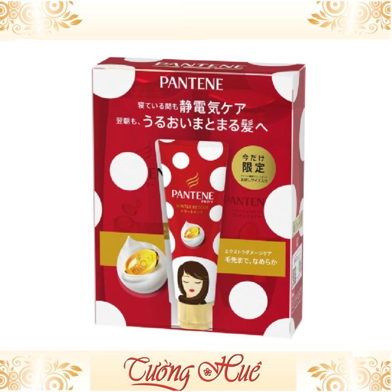 Bộ 3 chăm sóc tóc hư tổn Pantene Pro-V Vàng - Nội địa Nhật (Dầu gội, xả, hấp)
