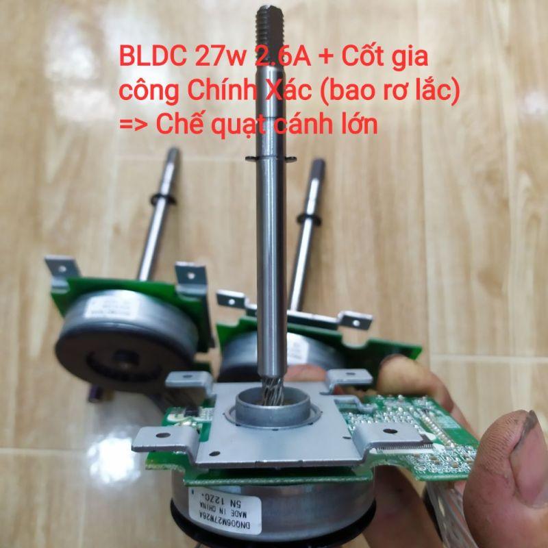BLDC 27w đã đóng cốt chế quạt B4 cánh 35cm