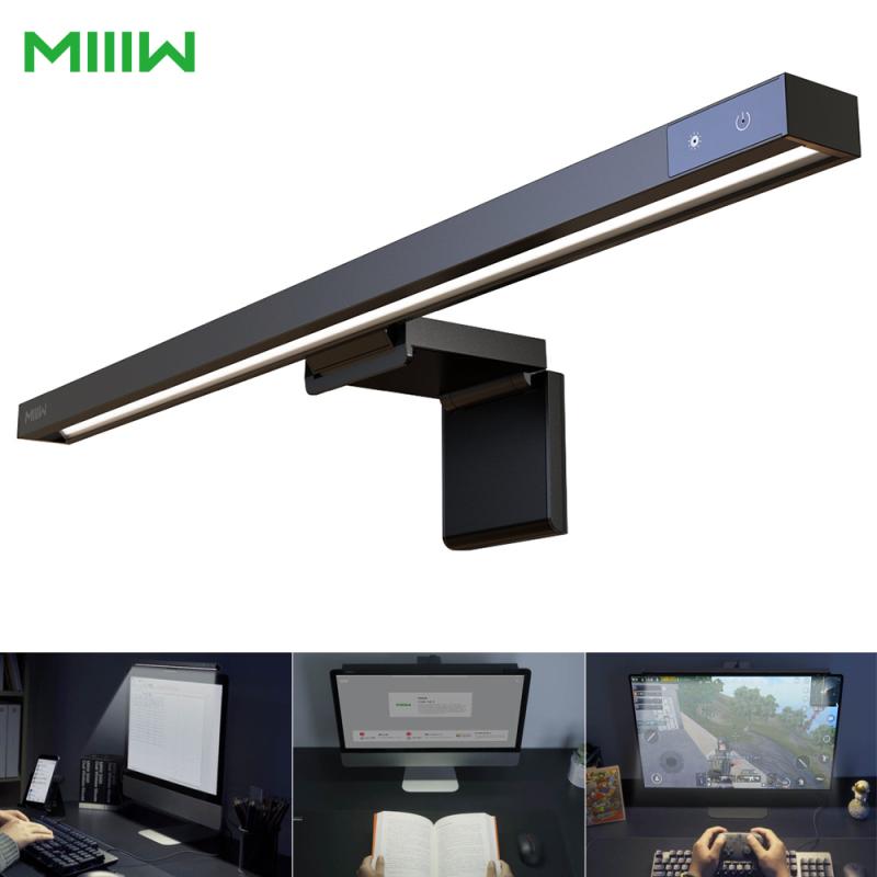 Xiaomi MIIIW Screenbar Chăm sóc mắt Đèn bàn LED USB Type-C Ống sạc Máy tính Máy tính PC Màn hình Máy tính xách tay Thanh Màn hình Treo Ánh