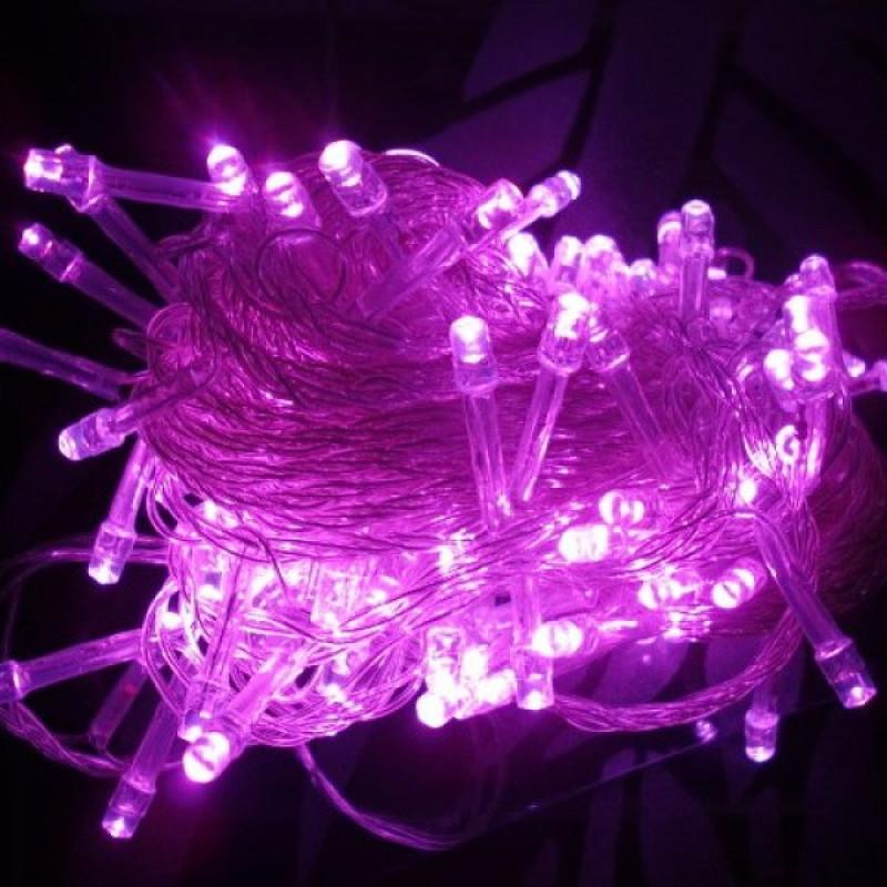Bảng giá Đèn led trang trí tết, noel chớp nháy nhiều màu, dây dài 5m, tự động đổi màu - Đèn trang trí phòng khách, đèn trang trí tết - THẾ GIỚI SỈ LẺ 3