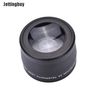 Jettingbuy Ống Kính Chụp Xa Chuyên Nghiệp 58 Mm 2.0x + Khăn Lau Cho Canon Nikon Sony Pentax thumbnail