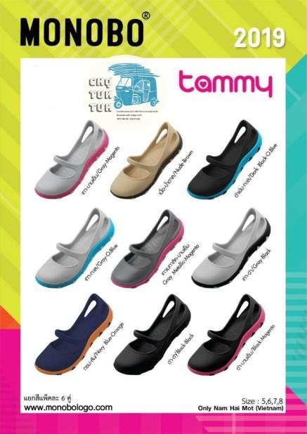 [11 màu+có sẵn] Giày Nhựa Thái Lan Monobo Tammy giá rẻ