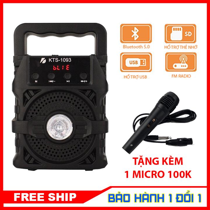 [MIỄN PHÍ VẬN CHUYỂN] Loa bluetooth hát karaoke kèm mic, loa bluetooth mini gia re, loa kẹo kéo karaoke công suất lớn, loa kẹo kéo karaoke bluetooth mini - BẢO HÀNH 1 ĐỔI 1
