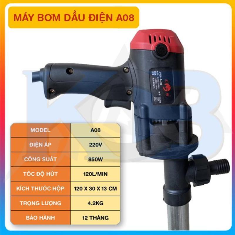 Bơm dầu nhớt điện 220V 850W