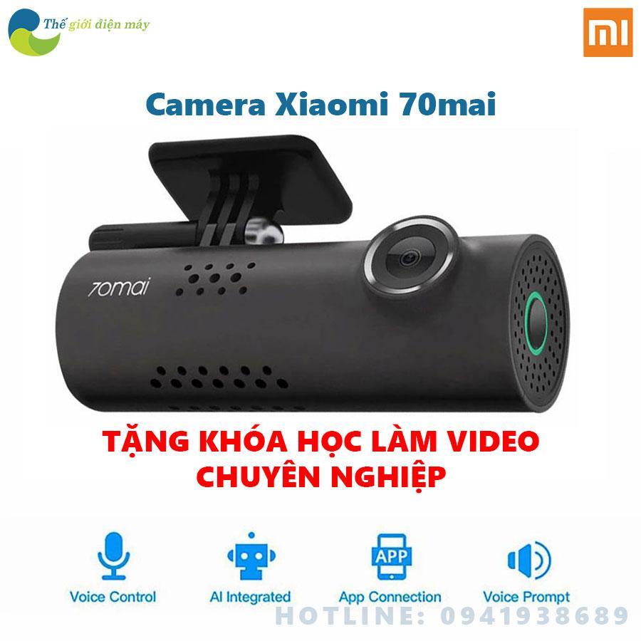 Camera hành trình xiaomi 70 mai 1s version mới cho xe hơi xe oto bao hành 12 tháng shop thế giới điện máy
