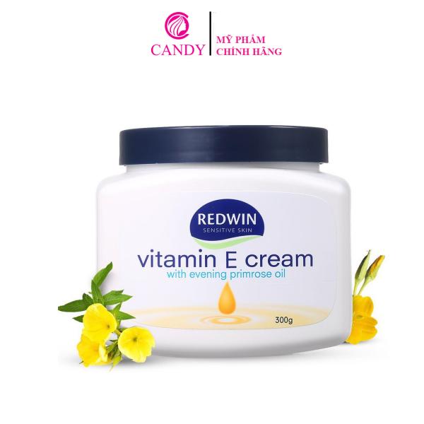 [HCM]Kem Dưỡng Da Redwin Vitamin E Cream 300g cao cấp