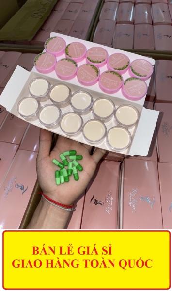 [Chuyên sỉ] Set 10 hộp kem làm trắng  Vitamin B10 mẫu mới , Combo 10 làm trắng siêu nhanh và an toàn vitamin B10