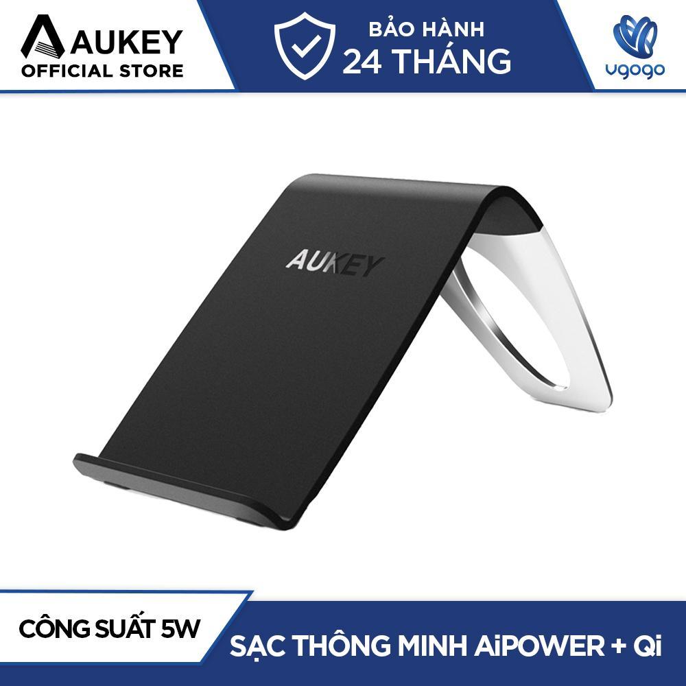 Sạc Không Dây Chuẩn Qi Aukey LC-C1 5W AiPower Cho Smartphone Sử Dụng Chuẩn Sạc Không Dây Qi - Nhà Phân Phối Chính Thức