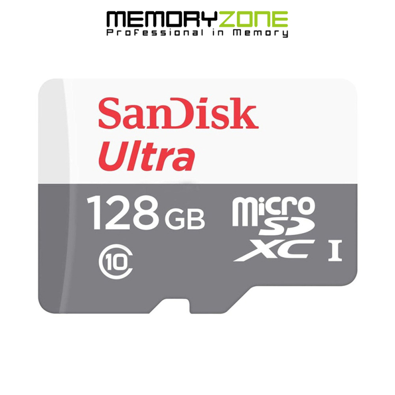 Thẻ Nhớ MicroSDXC SanDisk Ultra 128GB 100MB/s 667x SDSQUNR-128G-GN6MN