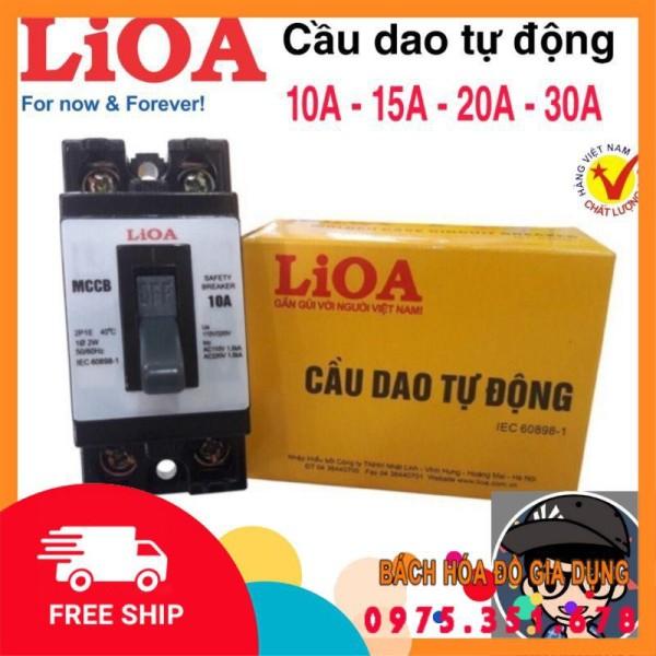 Bảng giá Cầu dao tự động (APTOMAT) LiOA 10A - 15A - 20A - 30A