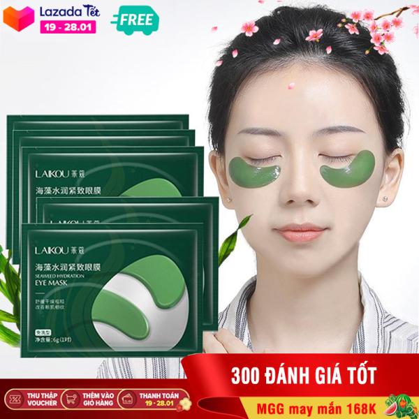 [Giá dùng thử] 3 mặt nạ mắt giảm quầng thâm và nếp nhăn LAIKOU mặt nạ mắt tảo biển mặt nạ dưỡng mắt mặt nạ nội địa Trung XP-MN141 giá rẻ