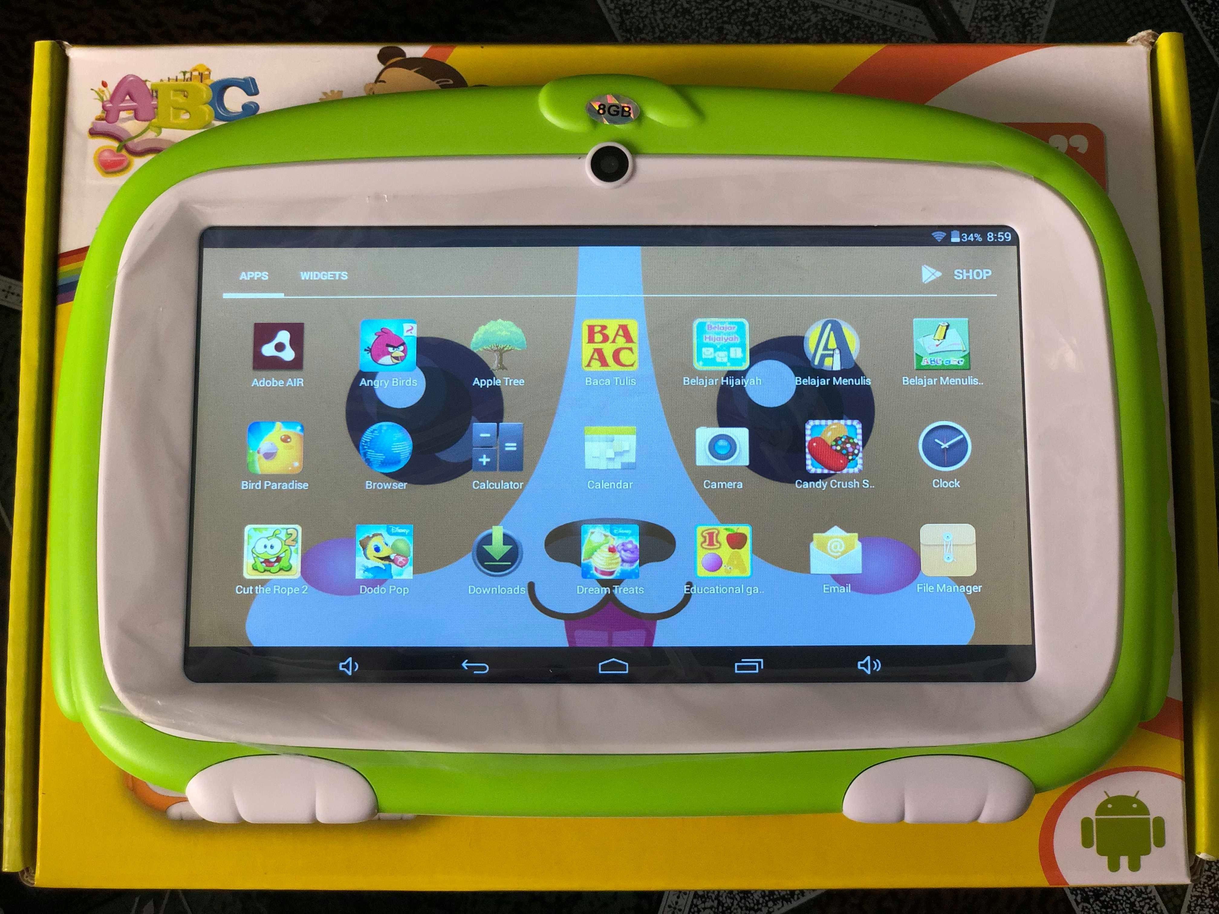 Máy tính bảng giá rẻ - phiên bản cho trẻ em