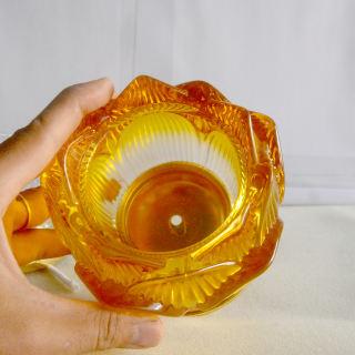 Đèn dầu hoa sen vàng thờ cúng bàn thờ - hình 4