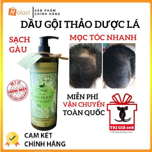 [Mọc Tóc Nhanh] Dầu gội thảo dược Molazi, kích thích mọc tóc nhanh, TẶNG kẹp càng cua 20k chống rụng tóc,đánh bay gàu hiệu quả, thay thế dầu gội khô, dầu gội bưởi và dầu dưỡng tóc khác (150ml-500ml) Molazi. giá rẻ