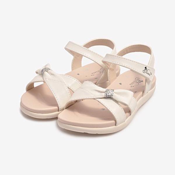 Giá bán Sandal Trẻ Em Bé Gái BTIS - Dép Quai Hậu Bé Gái DRG001600-TRG (Size 34-37)