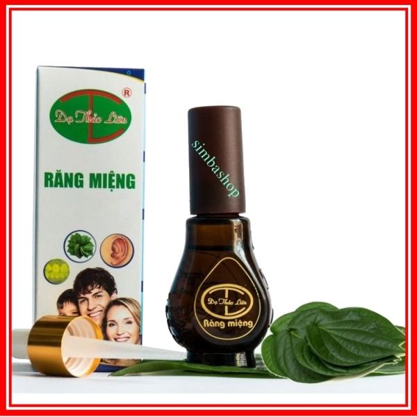 tinh dầu răng miệng dạ thảo liên lọ 20ml hỗ trợ sâu răng, viêm lợi, hôi miệng giá rẻ