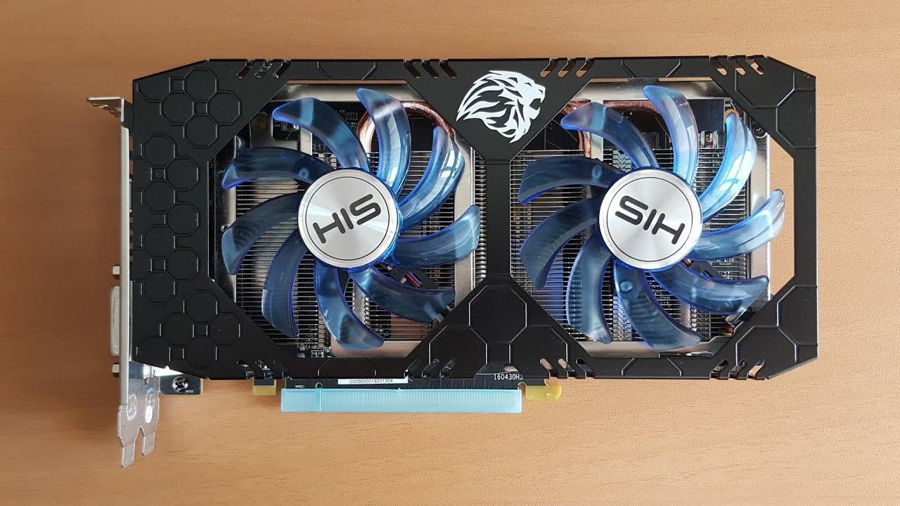 Card màn hình HIS RX 470 IceQ X² OC 4GB (AMD Radeon/ 4Gb/ DDR5/ 256 Bits) BH 12/2019