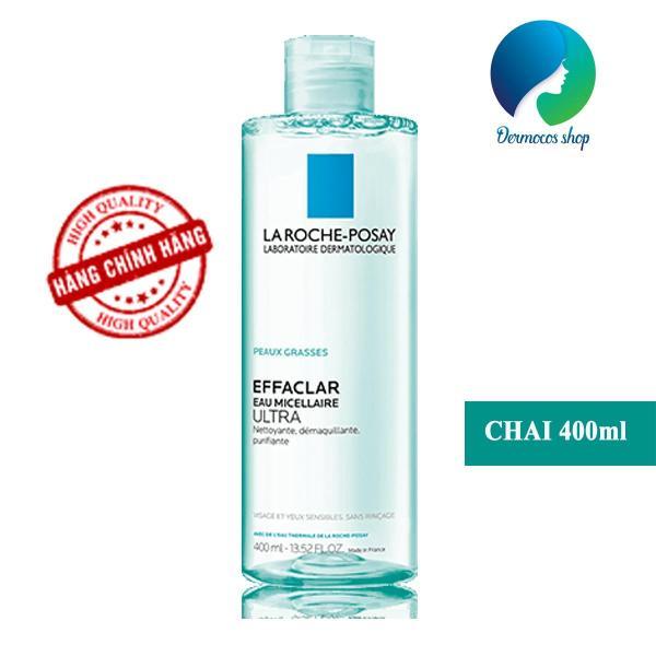 Nước tẩy trang cho da dầu mụn La Roche Posay Effaclar Eau Micellaire Ultra 400ml - DMCMP061