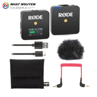 [VOUCHER 8% tối đa 800k cho đơn từ 150k] Mic RODE WireLess GO - Mic thu âm không dây - Bảo Hành 12 Tháng
