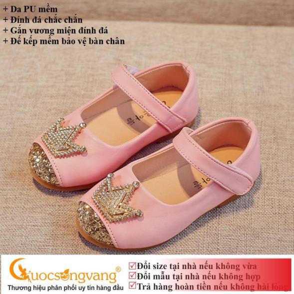 Giày bé gái đẹp giày công chúa bé gái GLG008 giá rẻ