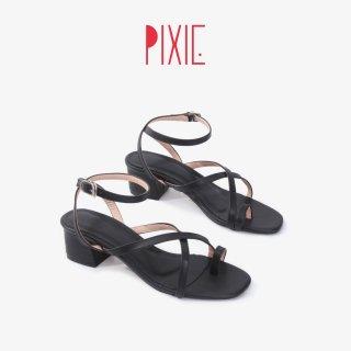 Giày Sandal Cao Gót 5cm Xỏ Ngón Pixie X769 thumbnail