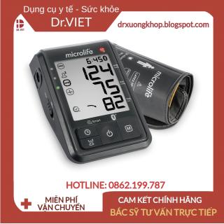 Máy đo huyết áp bắp tay Microlife B6 connect chính hãng- Đo huyết áp tự động và hỗ trợ cảnh báo nguy cơ đột quỵ, Đo huyết áp và nhịp tim, Ứng dụng công nghệ AFIB phát hiện rung nhĩ, Chức năng kiểm tra túi hơi, Dễ sử dụng thumbnail