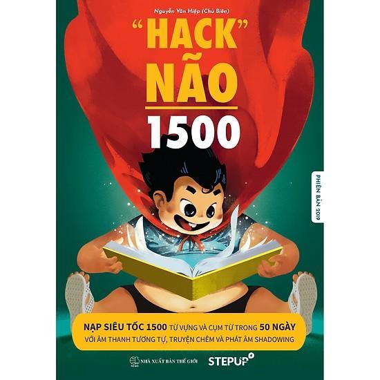 Mua [SÁCH CHÍNH HÃNG_PHIÊN BẢN 2019]_HACK NÃO 1500 TỪ TIẾNG ANH