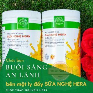 1 HỘP SỮA NGHỆ 500gr - Phù Hợp Với Người Hệ Tiêu Hóa Kém - Giúp Lợi Sữa Cho Con Bú - Shop Thảo Nguyên Hera thumbnail