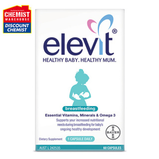 Elevit Breastfeeding Cung cấp vitamin sau sinh thumbnail