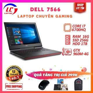 Laptop Chuyên Gaming Giá Rẻ Dell 7566, i7-6700HQ, VGA GTX 960M-4G, Màn 15.6 FullHD, LaptopLC298 thumbnail