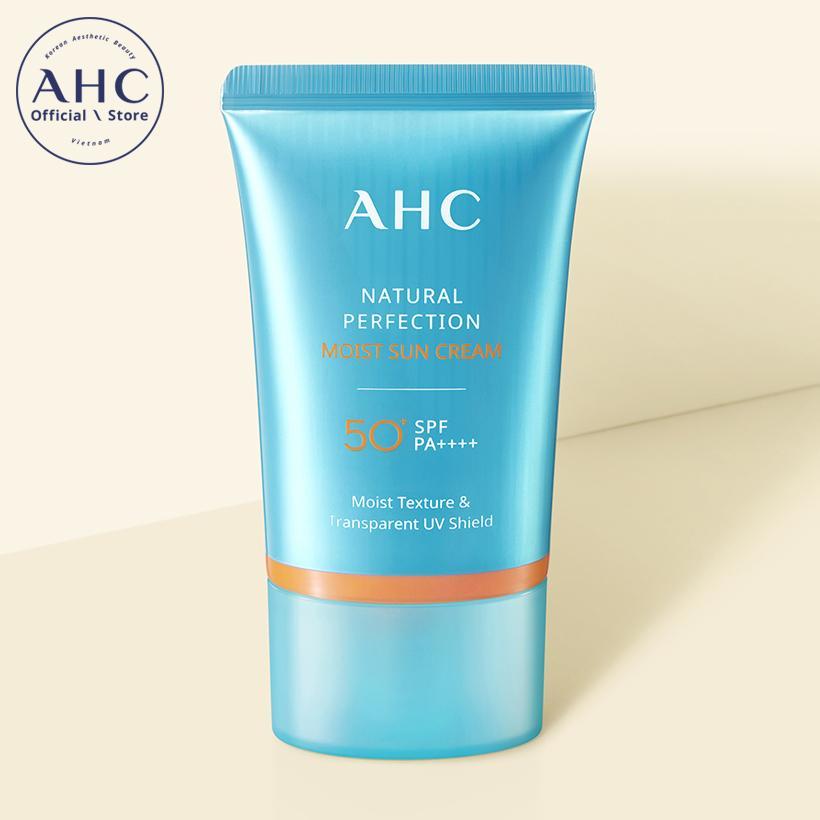 Kem Chống Nắng Dưỡng Ẩm AHC Natural Perfection (50ml) tốt nhất