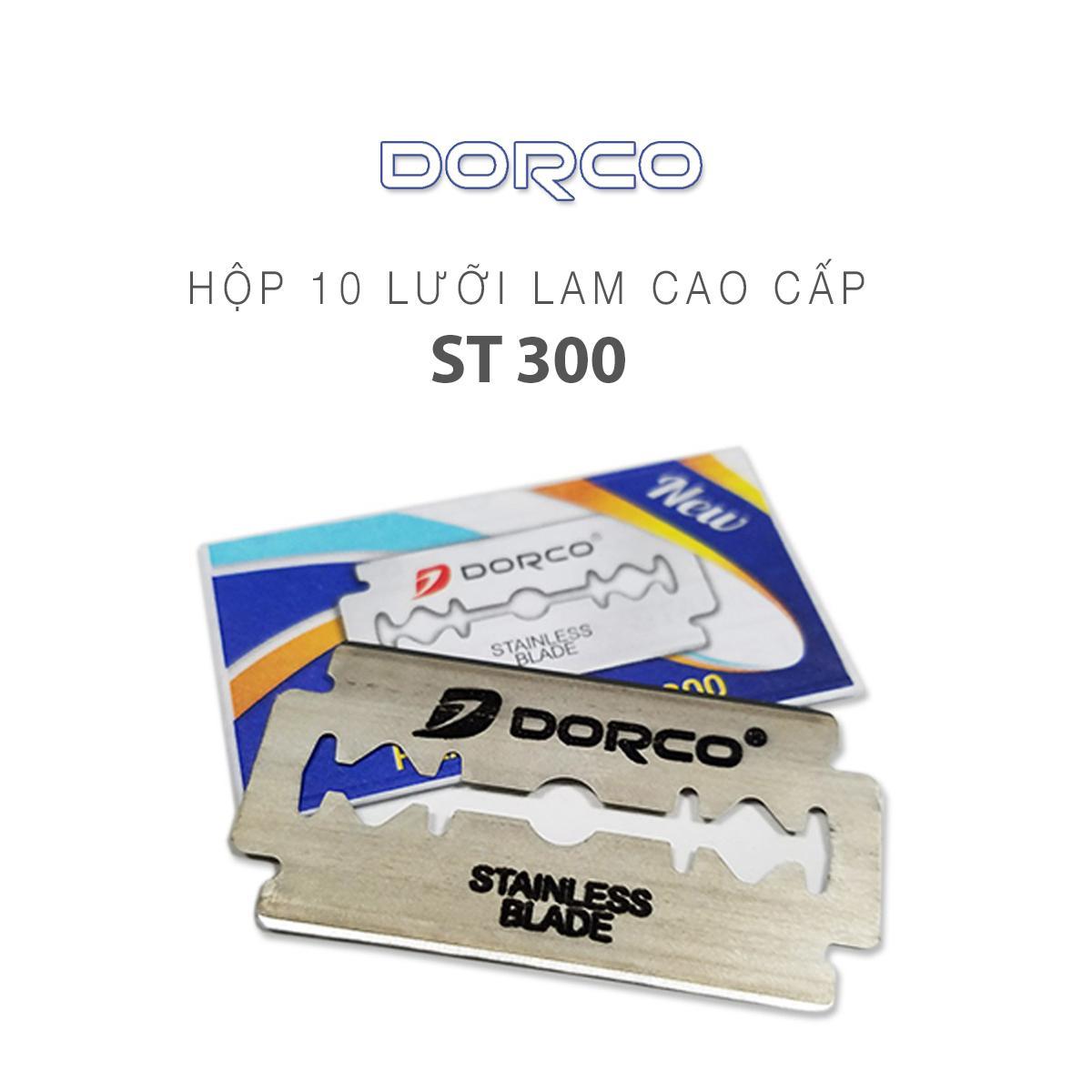 Hộp 100 lưỡi lam Dorco ST 300