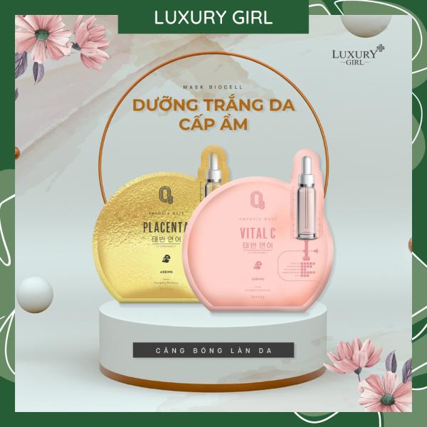 Mặt Nạ Dừa Biocell O8 Luxury Girl ( 1 miếng nạ)